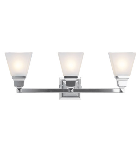 Livex 1033 05 mission 3 light 26 inch polished chrome bath light livex 1033 05 mission 3 light 26 inch polished chrome bath light wall light mozeypictures Images