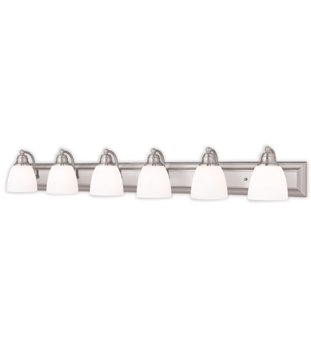 light 48 inch brushed nickel bath vanity wall light lighting new