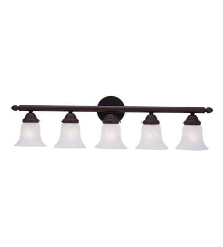 Bronze Bath Basics Bathroom Vanity Lights