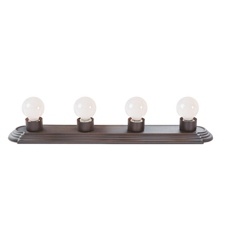 Livex Lighting Bath Basics 4 Light Bath Light in Imperial Bronze 1144-58 photo