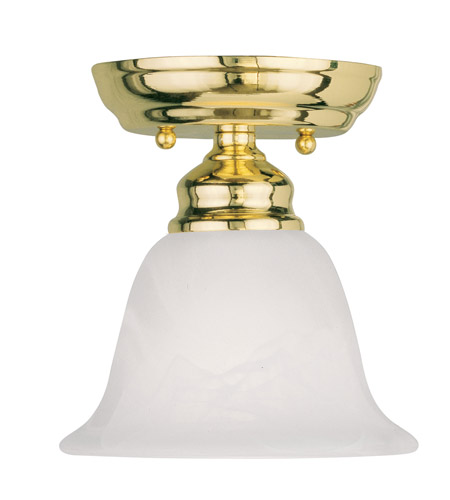 Livex 1350 02 essex 1 light 6 inch polished brass ceiling mount livex 1350 02 essex 1 light 6 inch polished brass ceiling mount ceiling light mozeypictures Image collections
