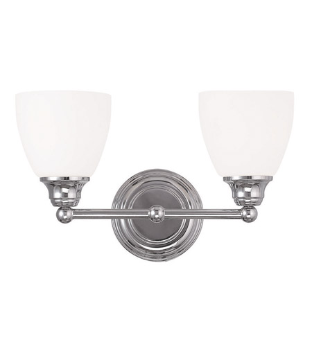 Livex 13662 05 somerville 2 light 15 inch polished chrome vanity livex 13662 05 somerville 2 light 15 inch polished chrome vanity light wall light aloadofball Image collections