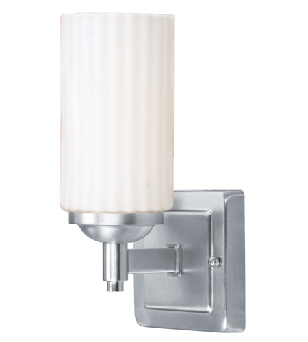 Livex 1421-91 Madison 1 Light 5 inch Brushed Nickel Bath Light Wall Light photo