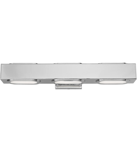 Livex Steel Kimball Bathroom Vanity Lights
