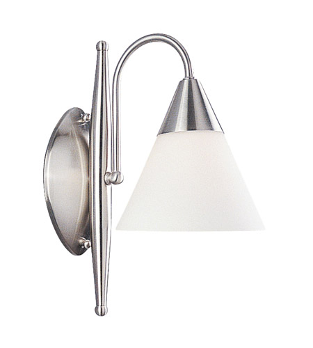 Livex Lighting Sterling 1 Light Bath Light in Brushed Nickel 1521-91 photo