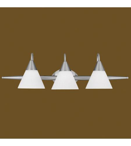 Livex Lighting Sterling 3 Light Bath Light in Brushed Nickel 1523-91
