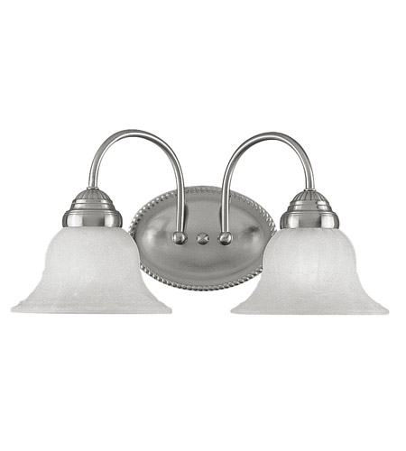 Livex Lighting Edgemont 2 Light Bath Light in Brushed Nickel 1532-91 photo