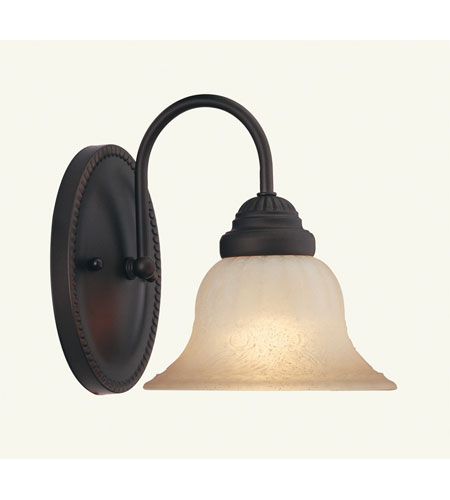 Livex Lighting Edgemont 1 Light Bath Light in Bronze 1535-07 photo