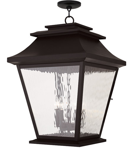 Livex hathaway 5 light outdoor chain hang lantern in for Hathaway furniture new york