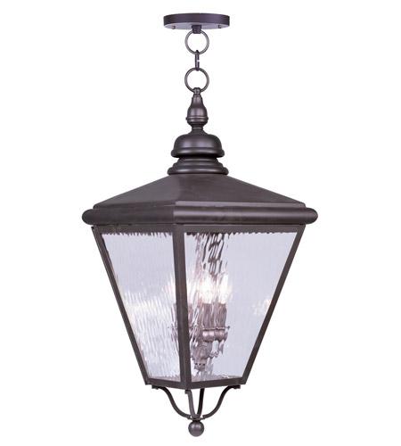 Livex 2037 07 cambridge 4 light 14 inch bronze outdoor hanging lantern mozeypictures Gallery