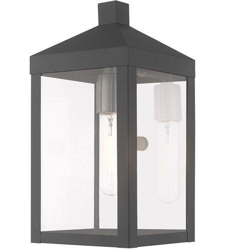 Scandinavian Gray Outdoor Wall Lights