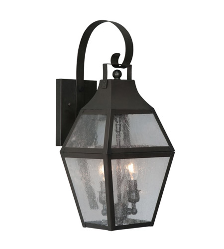 Livex 2081-07 Augusta 2 Light 21 inch Bronze Outdoor Wall Lantern photo