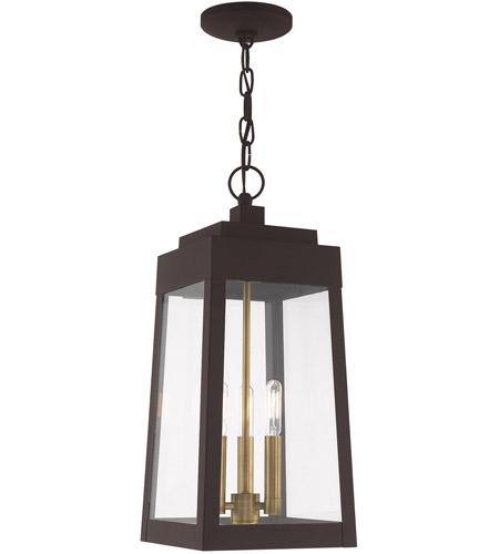 Livex Lighting 40665-07 Allendale Bronze 4 Light Pendant Chandelier
