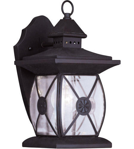 Livex 2091-07 Providence 1 Light 13 inch Bronze Outdoor Wall Lantern photo