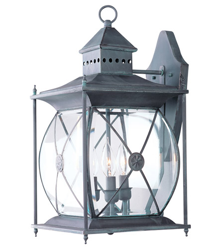 Livex 2093-61 Providence 3 Light 20 inch Charcoal Outdoor Wall Lantern photo