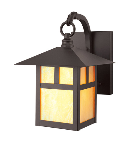 Livex 2131-07 Montclair Mission 1 Light 11 inch Bronze Outdoor Wall Lantern photo