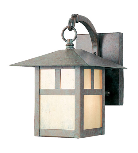 Livex Lighting Montclair Mission 1 Light Outdoor Wall Lantern in Verde Patina 2131-16 photo