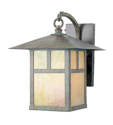 Livex Lighting Montclair Mission 1 Light Outdoor Wall Lantern in Verde Patina 2133-16 photo