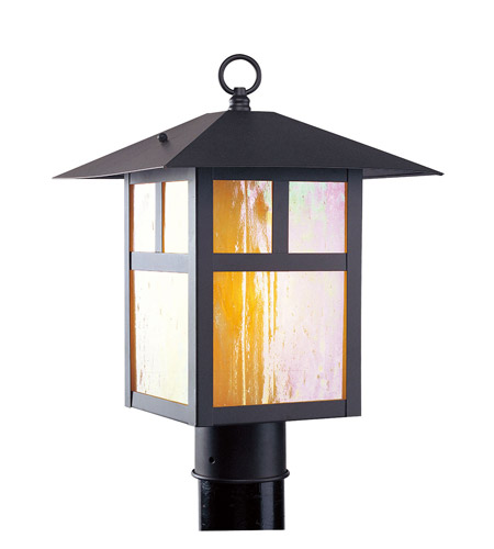 Livex Lighting Montclair Mission 1 Light Outdoor Post Head in Bronze 2134-07 photo