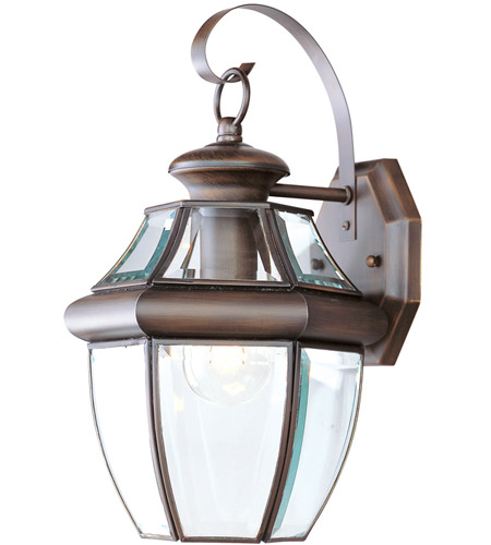 Livex 2151-58 Monterey 1 Light 13 inch Imperial Bronze Outdoor Wall Lantern photo
