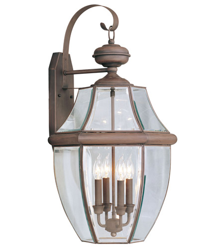Livex 2356-58 Monterey 4 Light 30 inch Imperial Bronze Outdoor Wall Lantern photo