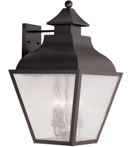 Livex 2457-07 Vernon 4 Light 25 inch Bronze Outdoor Wall Lantern photo