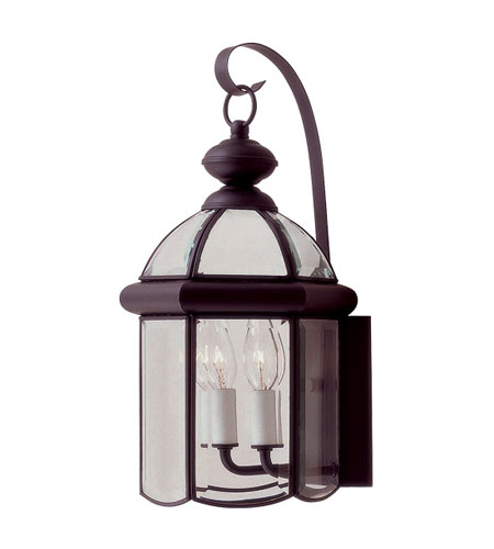 Livex Lighting Chatham 2 Light Outdoor Wall Lantern in Bronze 2542-07 photo