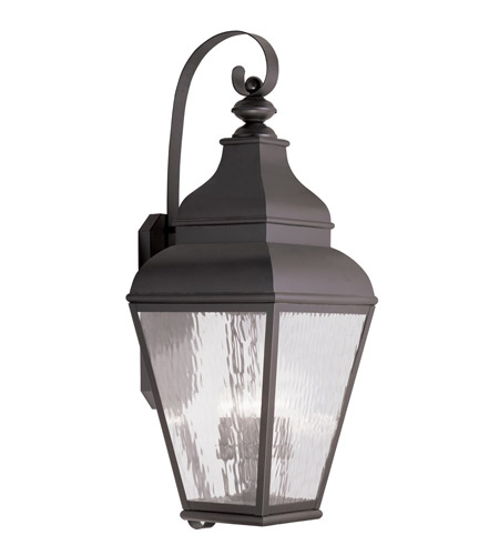 Livex 2607-07 Exeter 4 Light 38 inch Bronze Outdoor Wall Lantern photo