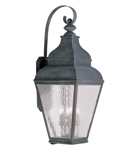 Livex 2607-61 Exeter 4 Light 38 inch Charcoal Outdoor Wall Lantern photo