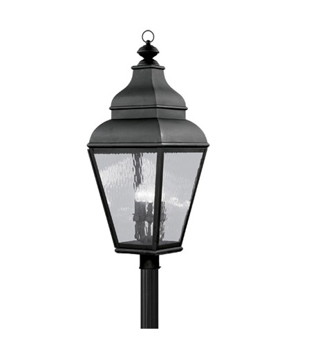 Livex 2608-04 Exeter 4 Light 38 inch Black Outdoor Post Head photo