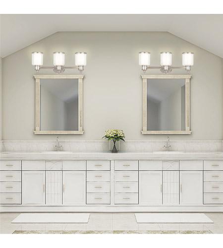 Bathroom Vanity Lights Polished Nickel livex 40213-35 middlebush 3 light 24 inch polished nickel bath