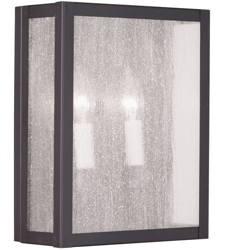 Livex Lighting Milford 2 Light Wall Sconce in Bronze 4050-07 photo