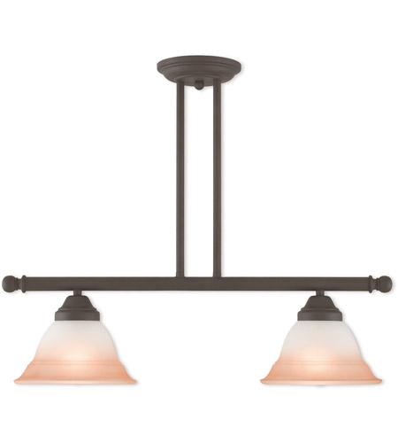 Livex Bronze Steel Chandeliers