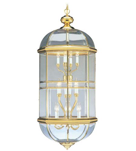 Livex Lighting Beacon Hill 18 Light Chandelier in Polished Brass 4095-02 photo