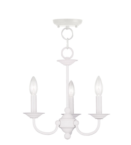 Livex 4153 03 home basics 3 light 14 inch white mini chandelier livex 4153 03 home basics 3 light 14 inch white mini chandelier ceiling light aloadofball Images