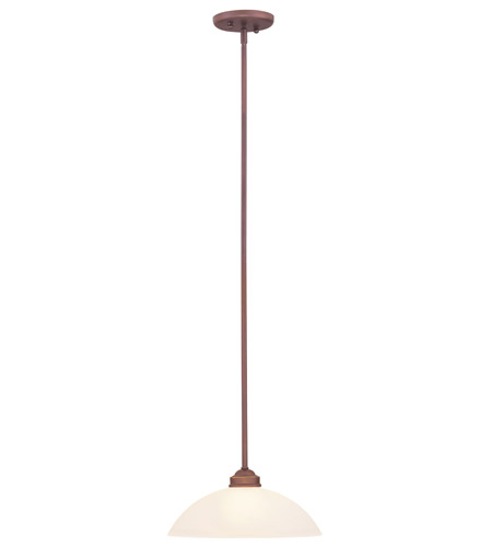Livex Lighting Somerset 1 Light Pendant in Vintage Bronze 4212-70 photo