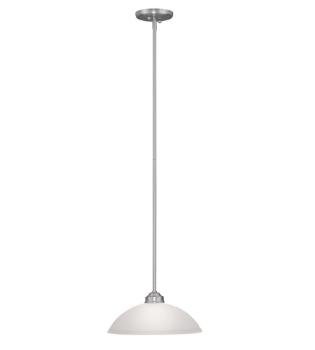 Livex 4212-91 Somerset 1 Light 13 inch Brushed Nickel Pendant Ceiling Light photo