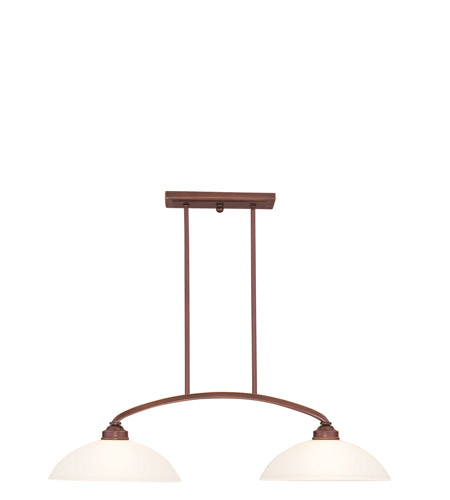 Livex Lighting Somerset 2 Light Billiard/Island in Vintage Bronze 4222-70 photo