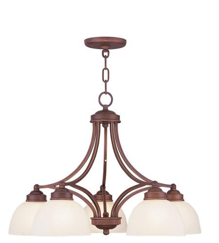 Livex Lighting Somerset 5 Light Chandelier in Vintage Bronze 4225-70 photo