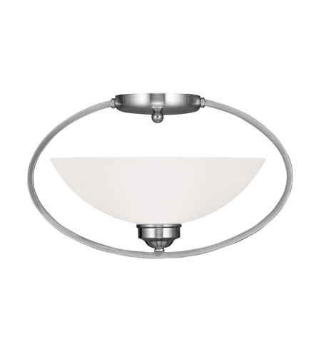 Livex 4236-91 Somerset 1 Light 16 inch Brushed Nickel Ceiling Mount Ceiling Light photo