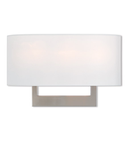 Livex 42402-91 Hayworth 3 Light 16 inch Brushed Nickel ADA Wall Sconce Wall Light photo