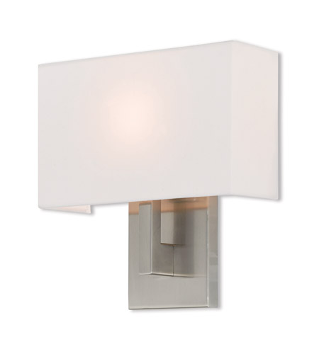 Livex 42412-91 Hayworth 1 Light 11 inch Brushed Nickel ADA Wall Sconce Wall Light photo