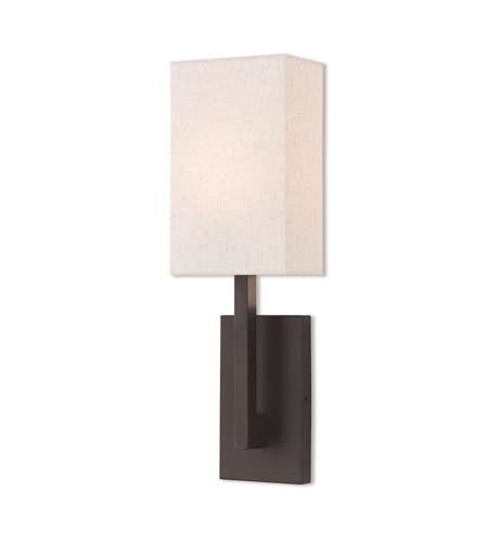 Livex 42423-07 Hayworth 1 Light 6 inch Bronze ADA Wall Sconce Wall Light photo