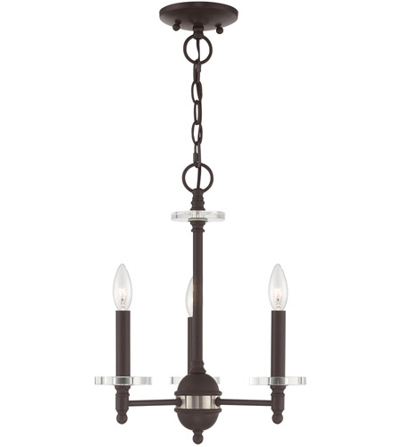 Steel Bancroft Mini Chandeliers