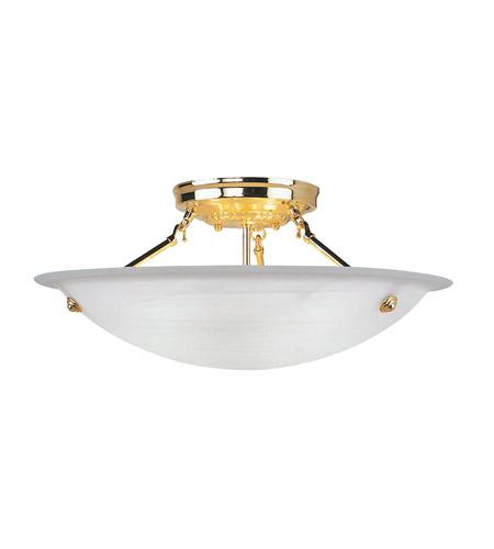 Livex 4274 02 home basics 3 light 20 inch polished brass ceiling livex 4274 02 home basics 3 light 20 inch polished brass ceiling mount ceiling light in white alabaster mozeypictures Images