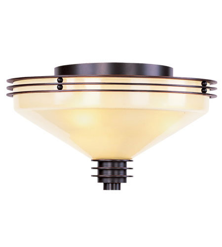 Livex Lighting Matrix 3 Light Ceiling Mount in Olde Bronze 4357-67 photo