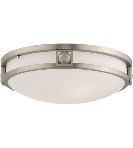 Livex 4487-91 Matrix 2 Light 13 inch Brushed Nickel Ceiling Mount Ceiling Light photo