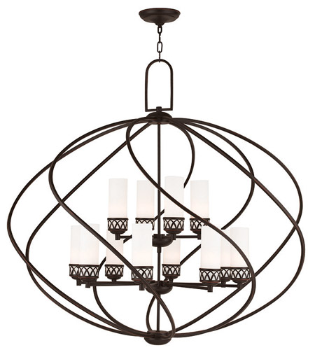 Olde Bronze Foyer Pendants