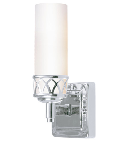 Livex Lighting Westfield 1 Light Bath Light in Chrome 4721-05 photo