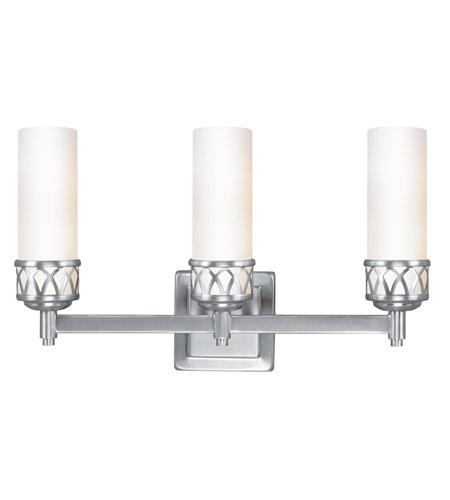 Livex 4723-91 Westfield 3 Light 18 inch Brushed Nickel Bath Light Wall Light photo thumbnail